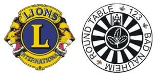 Logo of Round Table Bad Nauheim and Lions International